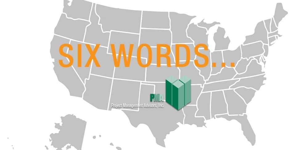 Photo of Six Words…
