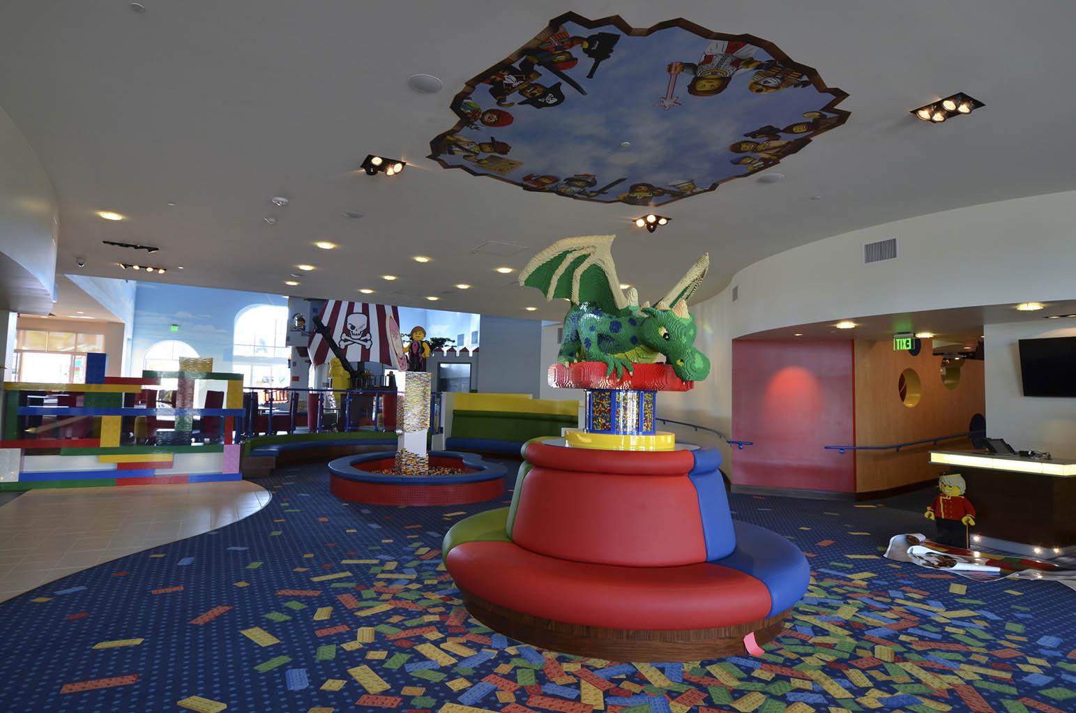 Legoland Room Service Menu