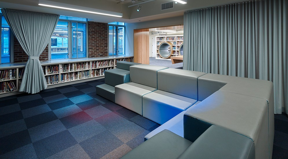 Photo of Francis W. Parker School Library Renovation