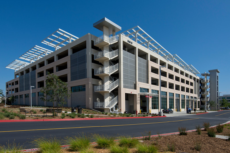 Photo of San Diego County Fleet Maintenance Facility and Parking Structure