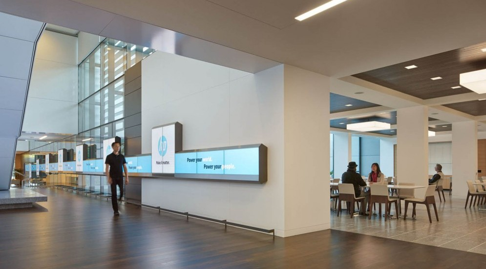 Photo of International Technology Company Executive Briefing Center