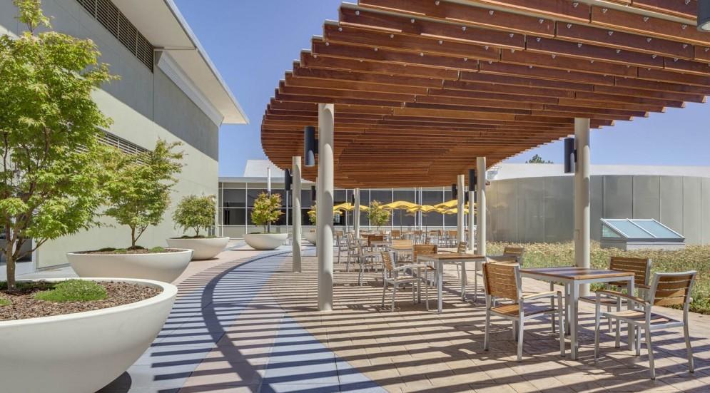 Photo of International Technology Company Palo Alto Headquarters