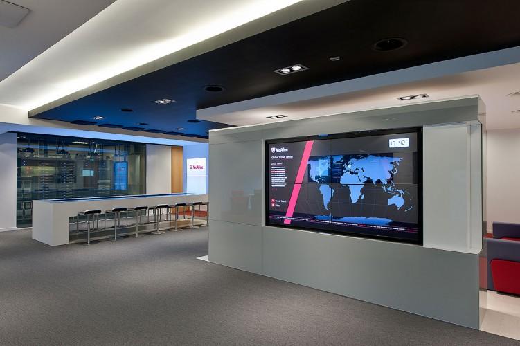Photo of McAfee Executive Briefing Center