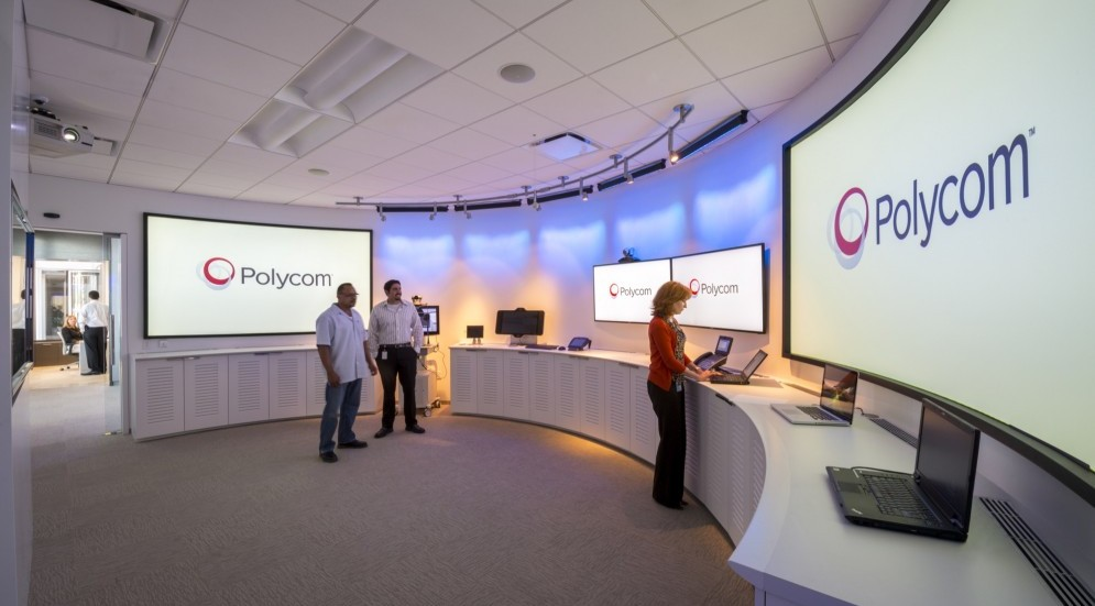 Photo of Polycom, Inc. Corporate Headquarters and Executive Experience Center
