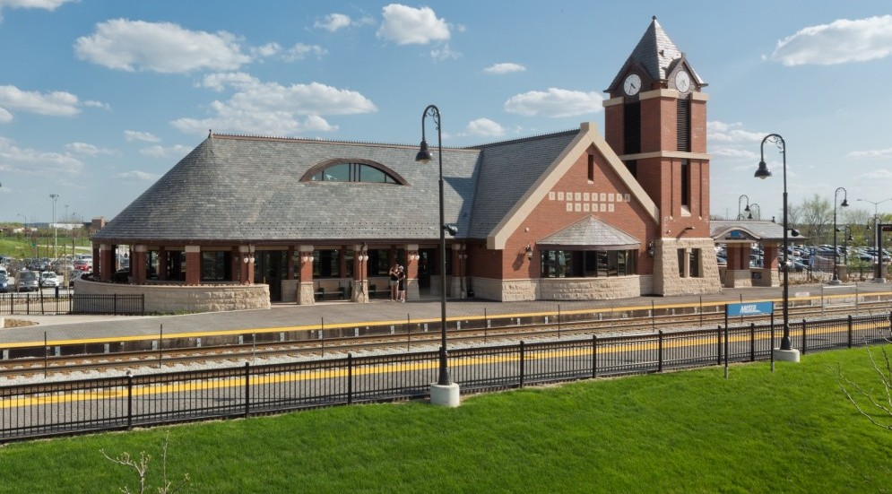 Photo of Village of Tinley Park 80th Avenue Metra Station and Pedestrian Underpass