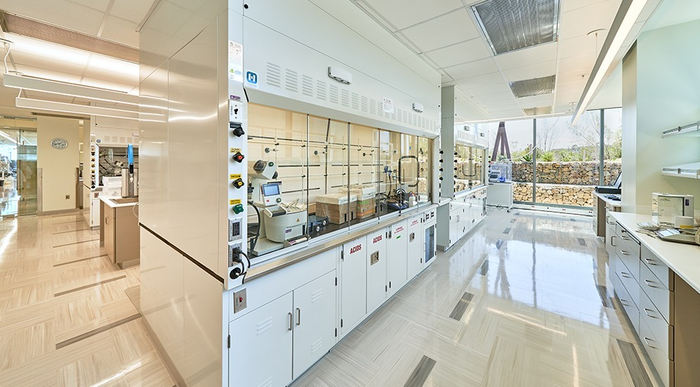 Photo of Vertex Pharmaceuticals San Diego Research Center