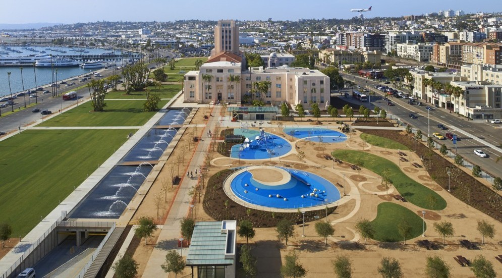 Photo of San Diego County Administration Center Waterfront Park