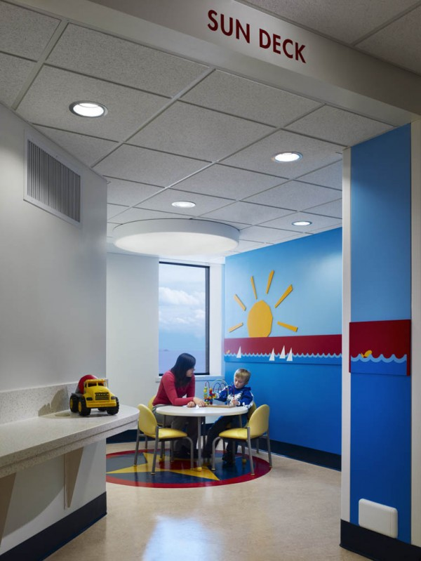 Photo of La Rabida Children's Hospital Inpatient Room Renovation
