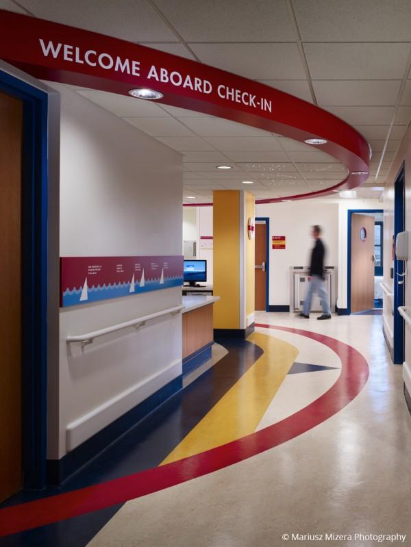 Photo of La Rabida Children's Hospital Inpatient Room Renovation