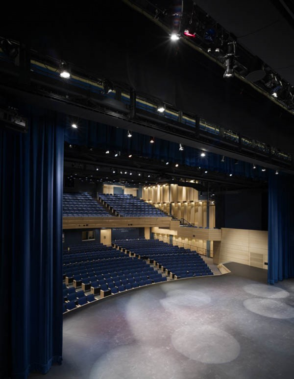 Photo of Francis W. Parker School Auditorium and Fine Arts Renovations